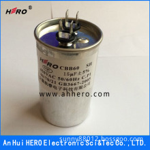 CBB60 Film Capacitor for Water Pump